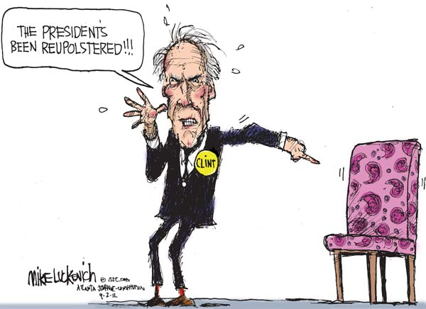 CLINT CARTOON