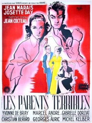 Jean Cocteau Les Parents Terribles poster