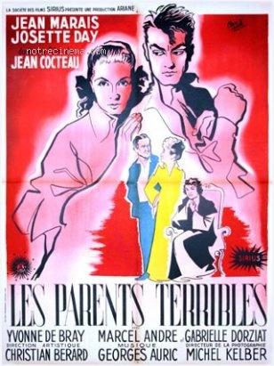 Jean Cocteau Les Parents Terribles poster