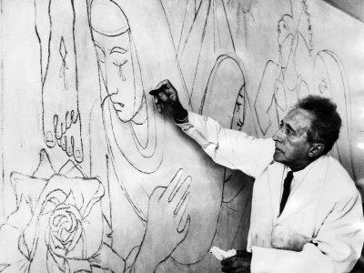 Jean Cocteau mural