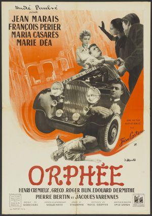 Jean Cocteau Orphee poster