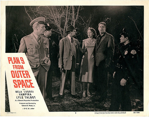 Plan 9 From Outer Space (LOBBY CARD) 1959