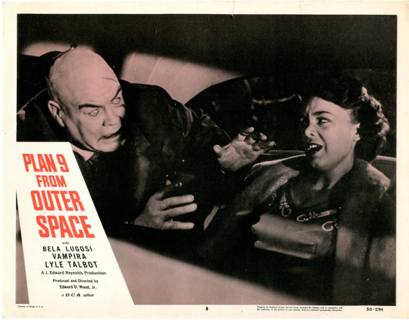 Plan 9 From Outer Space (lobby card. Tor Johnson)