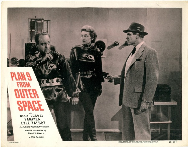 Plan 9 From Outer Space (lobby card0