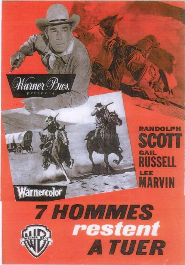 Seven Men From Now POSTER 1956