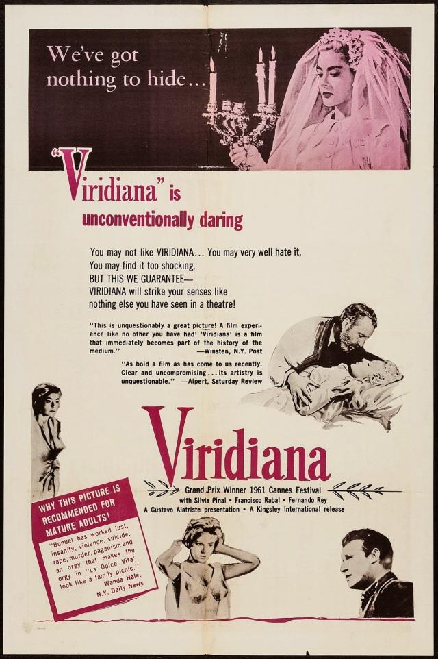 Viridana (1961) American poster