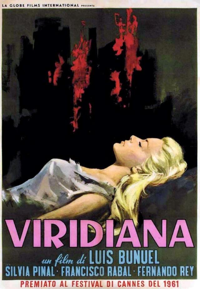 VIRIDIANA (1961 Bunuel) poster
