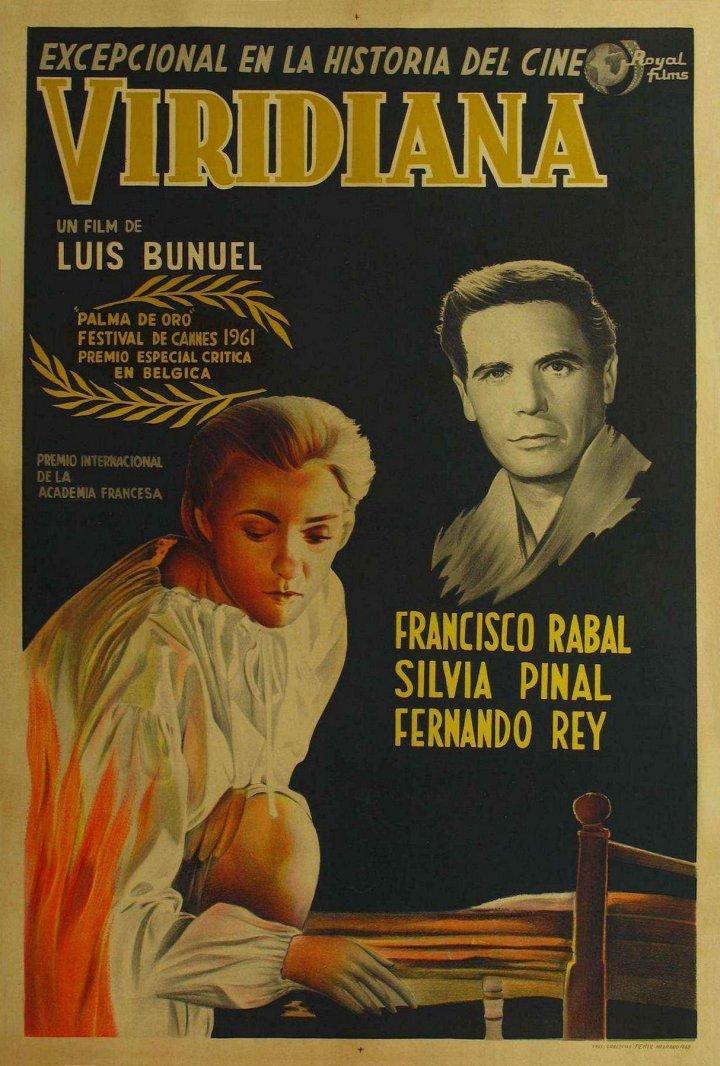 Viridiana movie poster Bunuel