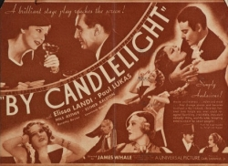 BY CANDLELIGHT (1933 DIR JAMES WHALE)