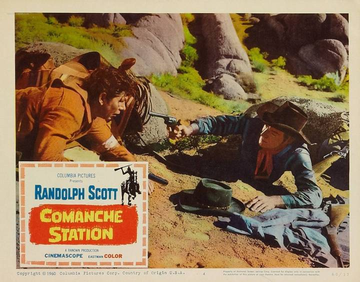 COMANCHE STATION LOBBY CARD