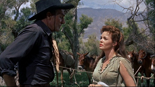 COMANCHE STATION. Randolph Scott, Nancy Gates