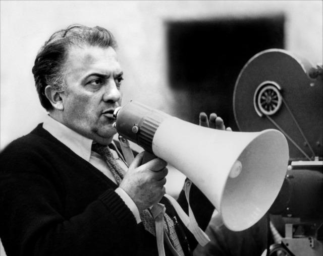 Fellini directing