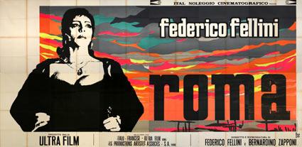 Fellini Roma (poater)