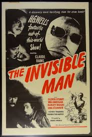 INVISIBLE MAN (1933-JAMES WHALE) CLAUDE RAINS, GLORIA STUART. poster