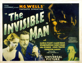 INVISIBLE MAN 1933 LOBBY CARD