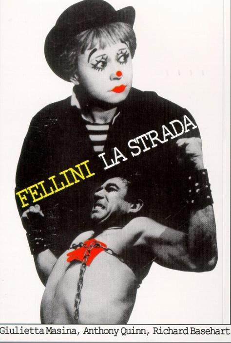La Strada (1954) Giuletta Masina Anthony Quinn