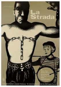 La Strada (1954) poster