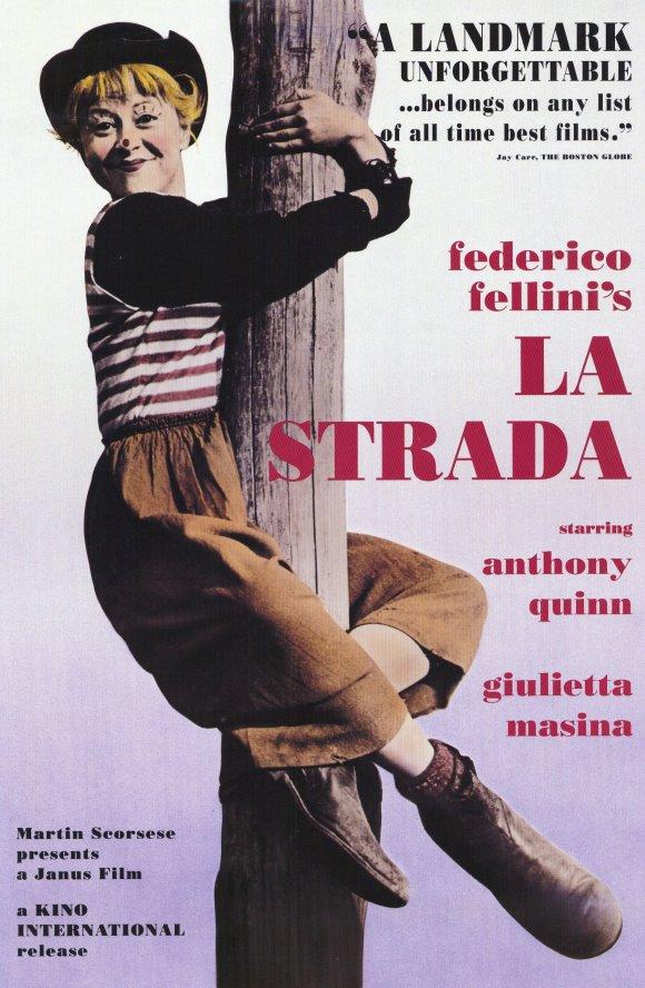 LA Strada movie poster