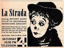 La Strada tv ad