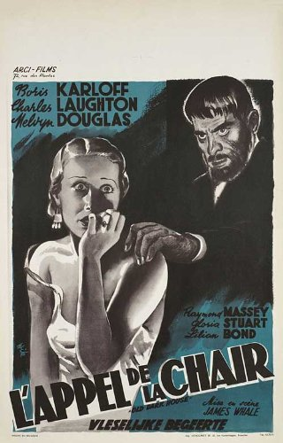 OLD DARK HOUSE POSTER (JAMES WHALE) GLORIA STUART BORIS KARLOFF POSTER