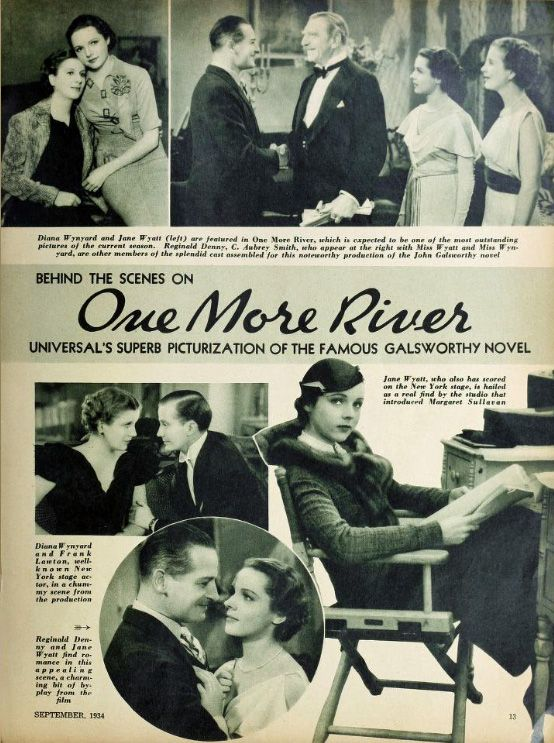 ONE MORE RIVER (1934 JAMES WHALE) PROMO