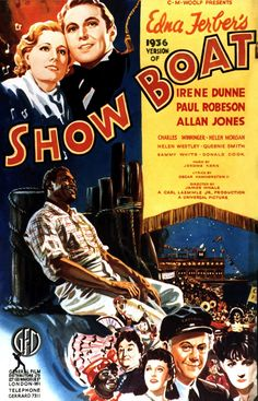 SHOW BOAT (1936 JAMES WHALE) PAUL ROBESON