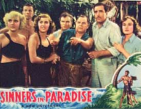 Sinners In Paradise (1938 dir. James Whale) lobby card