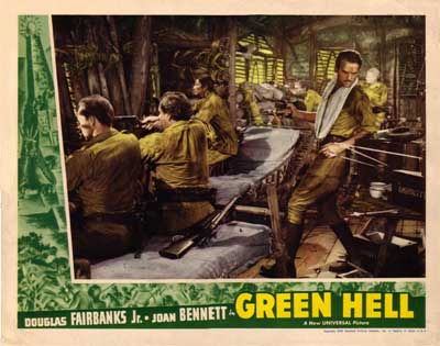 The Green Hell (1940) lobby card