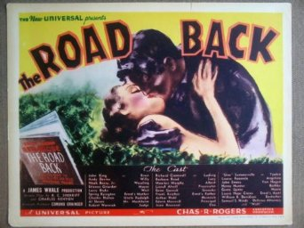 The Road Back 1937 lobby card (James Whale)