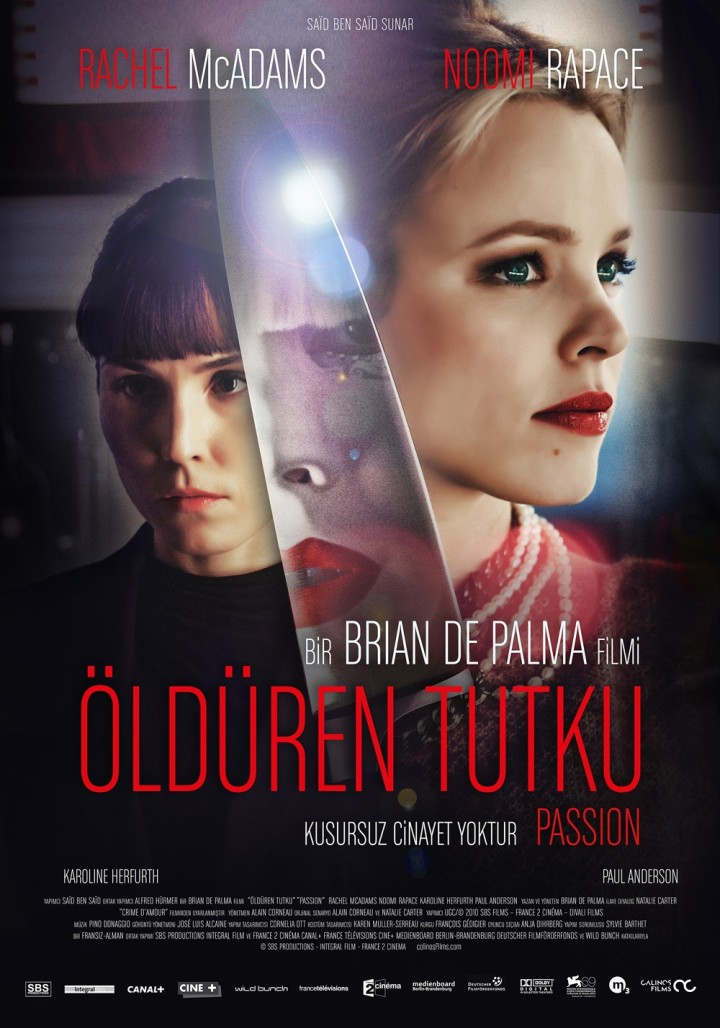 Passion (2012) Brian De Palma movie poster