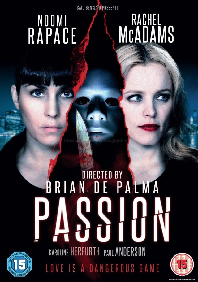 Passion 2012 movie poster De Palma