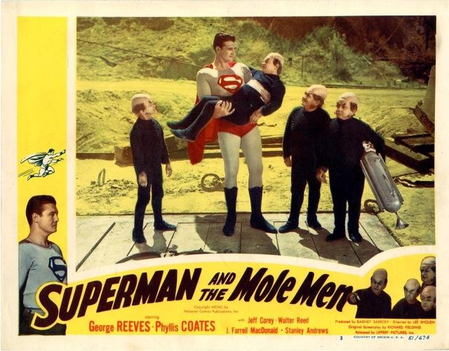 Superman And The Mole Men (1951) lobby card