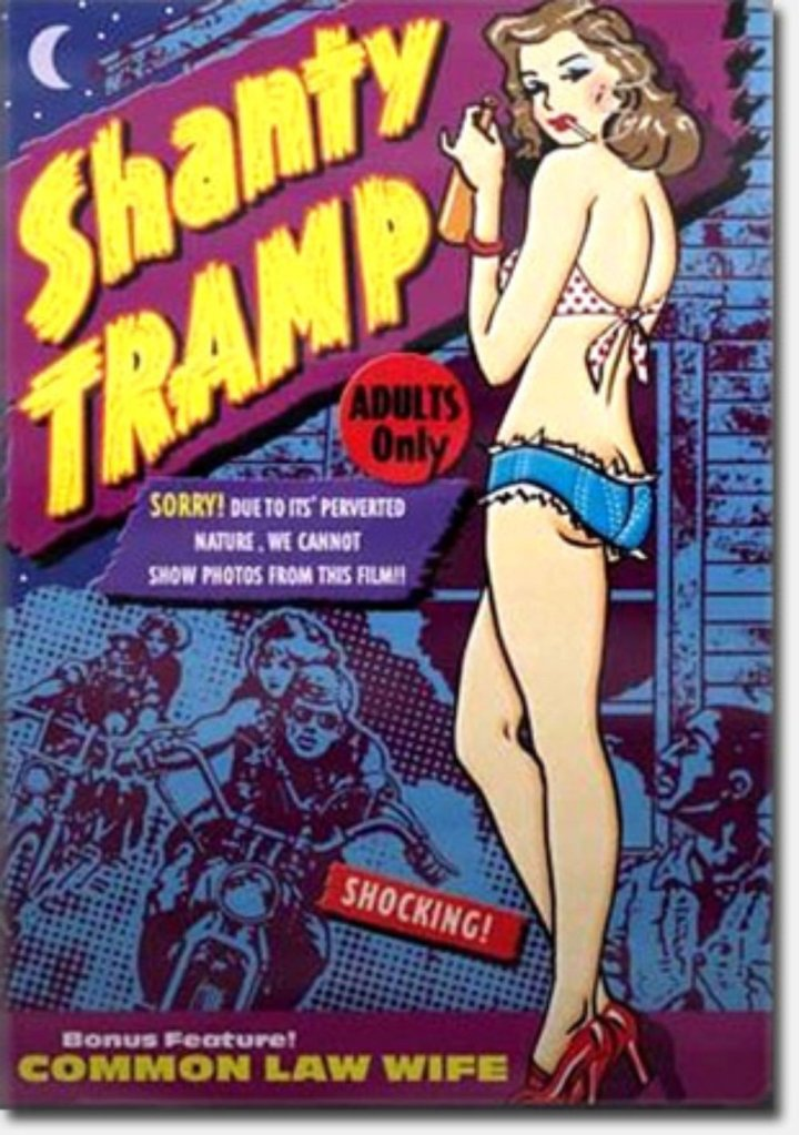 %22SHANTY TRAMP%22 1967 theatrical poster