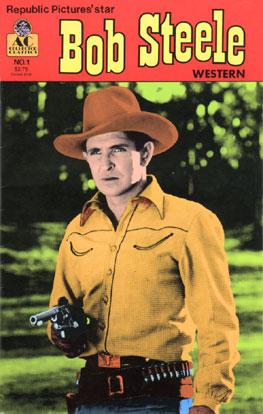 Bob Steele comic book