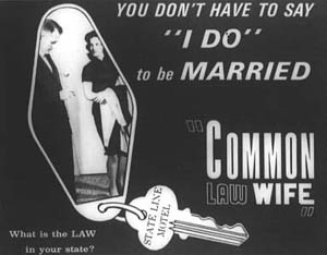 COMMON LAW WIFE (1963)