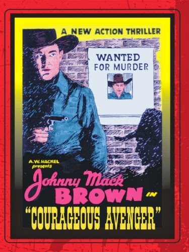 COURAGEOUS AVENGER (1935) JOHNNY MACK BROWN