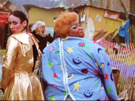 Desperate Living (1977 dir. John Waters) Mink Stole and Jean Hill guiding us to Mortville
