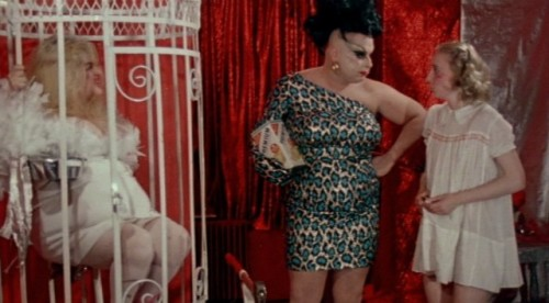 Female Trouble. Edith Massey, Mink Stole, and Divine