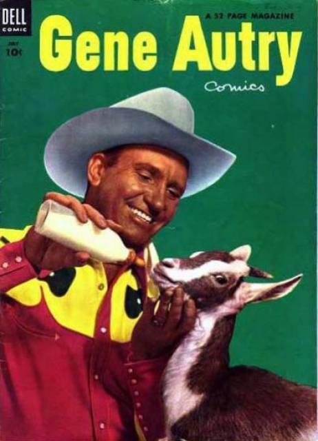 Gene Autry Comics #77