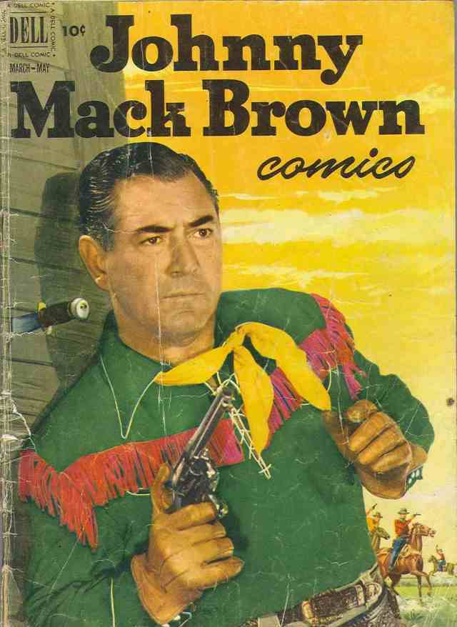 Johnny Mack Brown comic #9