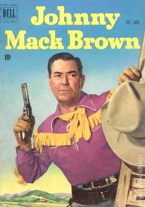 Johnny Mack Brown comic book