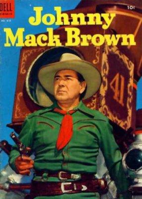Johnny Mack Brown comic (Dell)
