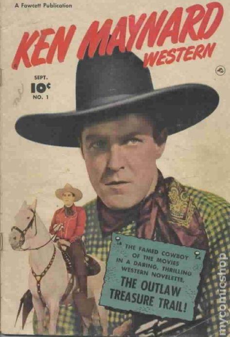 Ken Maynard Western Comics 1950