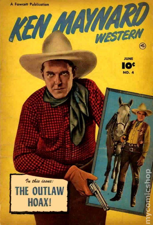 Ken Maynard Western Comics