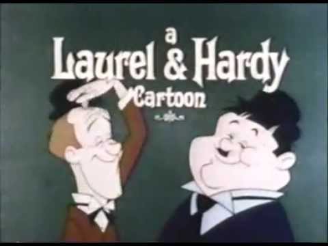 Laurel & Hardy cartoon