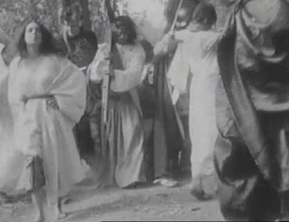 Multiple Maniacs (1970). A passion play-John Waters style