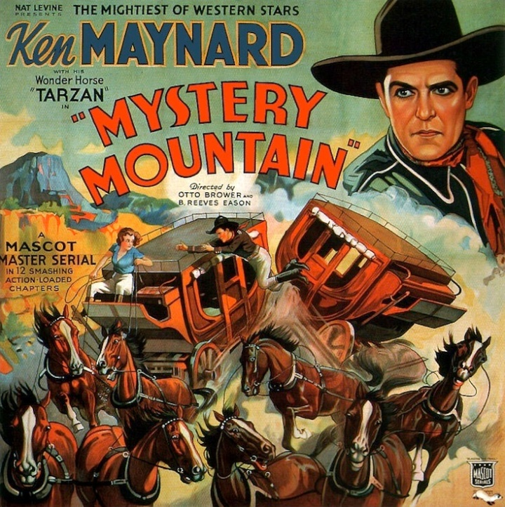 Mystery Mountain Ken Maynard