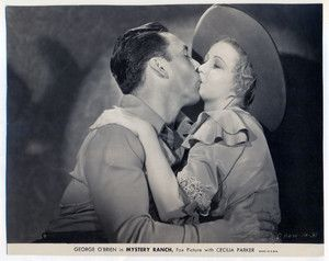 Mystery Ranch 1932 George O' Brien lobby card