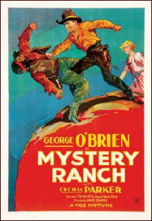 Mystery Ranch (1932) George O' Brien poster