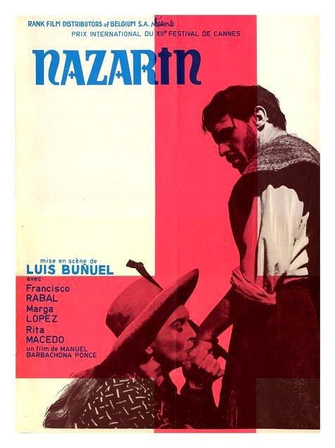 Nazarin (1959 dir. Luis Bunuel) poster